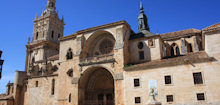 Catedral de El Burgo de Osma, Soria. La Ribera del Duero y tierras de El Burgo de Osma en Soria